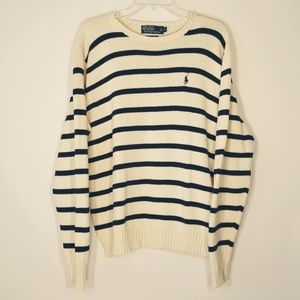 Polo by Ralph Lauren crewneck striped sweater